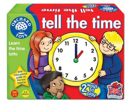 ORCHARD TOYS Tell The Time Lotto
