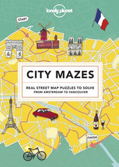 Lonely Planet - City Mazes - Activity Book - Hardback