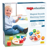 HABA EDUCATIONAL - Magical Sounds Matching Game - Wooden