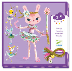 DJECO Art Kit - My Fairies Threading