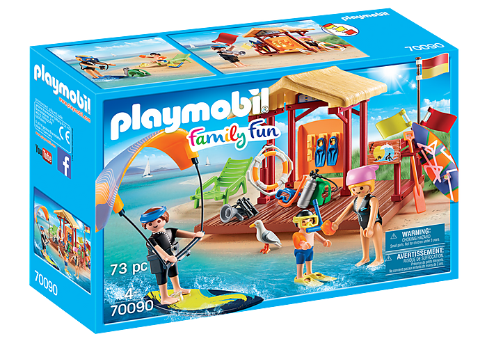 PLAYMOBIL Family Fun - Water Sports Lesson - 70090