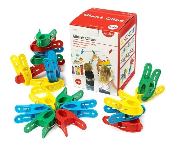 Edx Educational - Painting Pegs - 4 colours - Set 24
