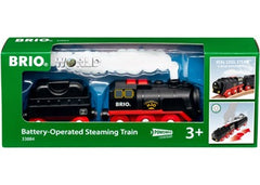 BRIO - Train - Battery - Steaming Train - 3 pieces - 33884