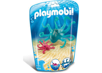 PLAYMOBIL Aquarium/Zoo Octopus with Baby 9066