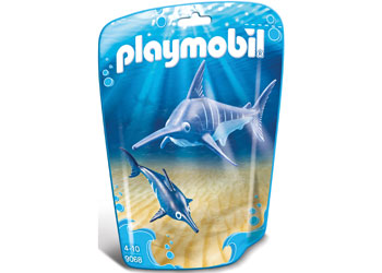 PLAYMOBIL Aquarium/Zoo Swordfish with Baby 9068