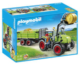 PLAYMOBIL Country Giant Tractor with Trailer 5121