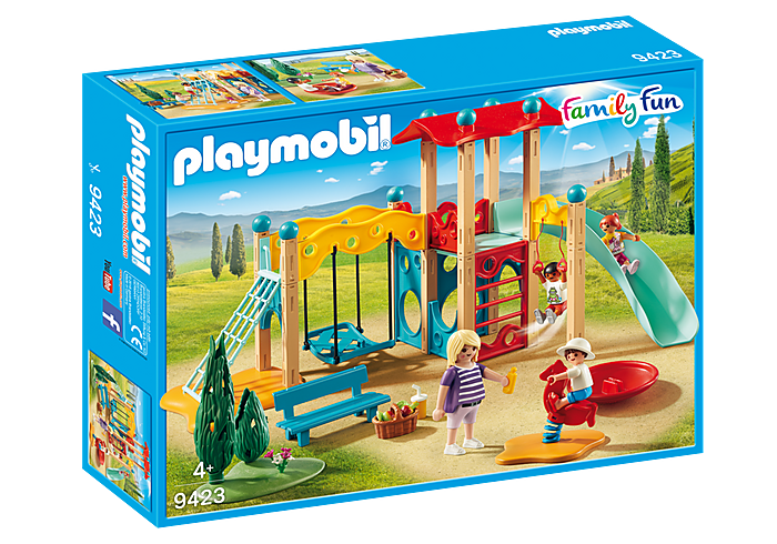 PLAYMOBIL - Family Fun - Park Playground - 9423