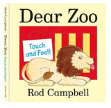 BOOK - Dear Zoo - Board Book Touch and Feel