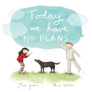 Today We have No Plans - Hardback Book