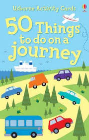 50 Things to do on a Journey -  Book