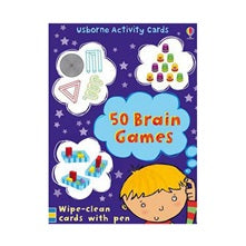 BOOK - 50 BRAIN GAMES CARDS