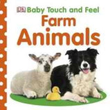 BOOK - Farm Animals - Board Book Touch and Feel