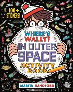 Where's Wally - Outer Space - Activity Book