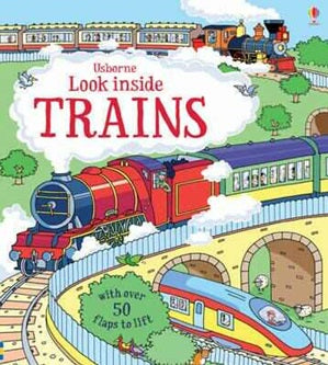 BOOK - Look Inside Trains