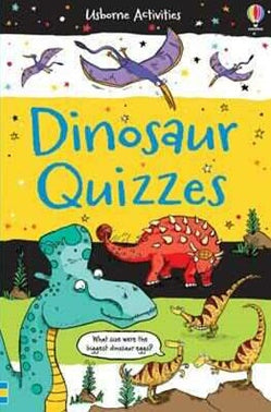 USBORNE Dinosaur Quiz - Activity Book