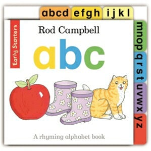BOOK - Early Starters: ABC - Board Book