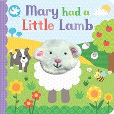Book - Little Me - Mary had a Little Lamb Finger Puppet Book