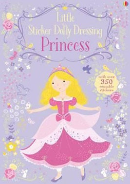Little Sticker Dolly Dressing Princess - Sticker Book