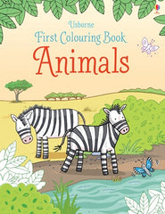 First Colouring Book - Animals