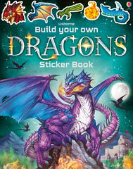 Build Your Own Dragons- Sticker Book