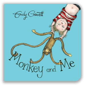 Monkey and Me - Board Book