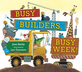 BOOK - Busy Builders, Busy Week! - Board Book