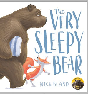 BOOK - Very Sleepy Bear, The -  Hardback