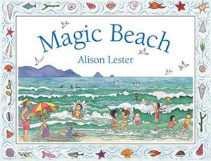 BOOK - Magic Beach - Board Book