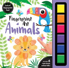 Finger Print Art Animals  - Activity Book