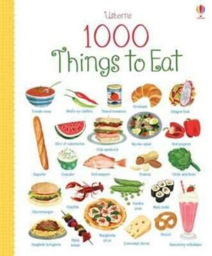 BOOK - USBORNE - 1000 Things to Eat