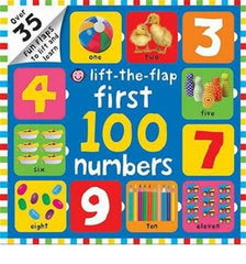 BOOK - First 100 Numbers Flap Book