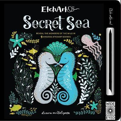 Etchart: Hidden Secret Sea- Etching Book