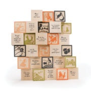 Uncle Goose Nursery Rhyme Wooden Blocks Master Set Box of 28