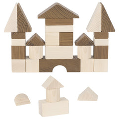 GOKI Nature - Building Blocks - 30 Piece - Wooden