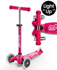 MICRO SCOOTER - Mini Micro Deluxe Led Scooter - Pink