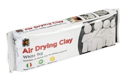 EC Air Drying Clay White 1 kg
