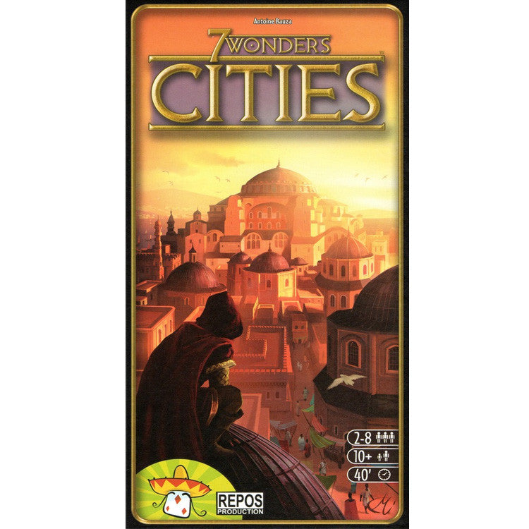7 WONDERS Cities Board Game - Expansion