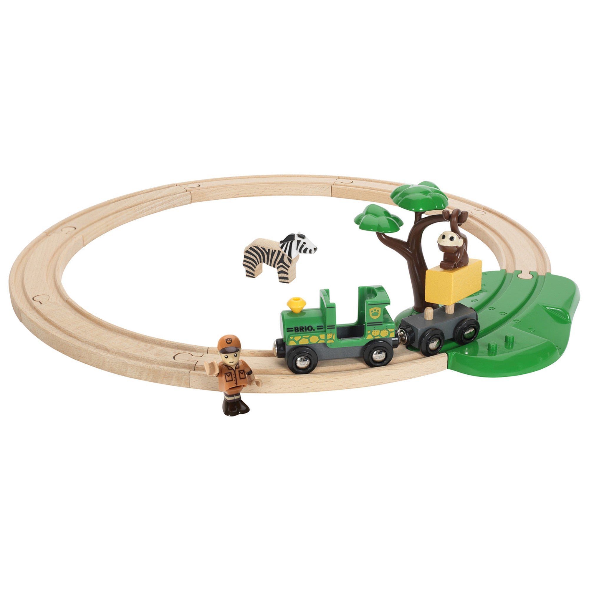 BRIO Train Set - Safari Starter Set 33720