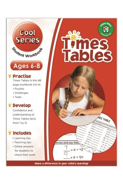 Gillian Miles - Cool Times Tables Exercises