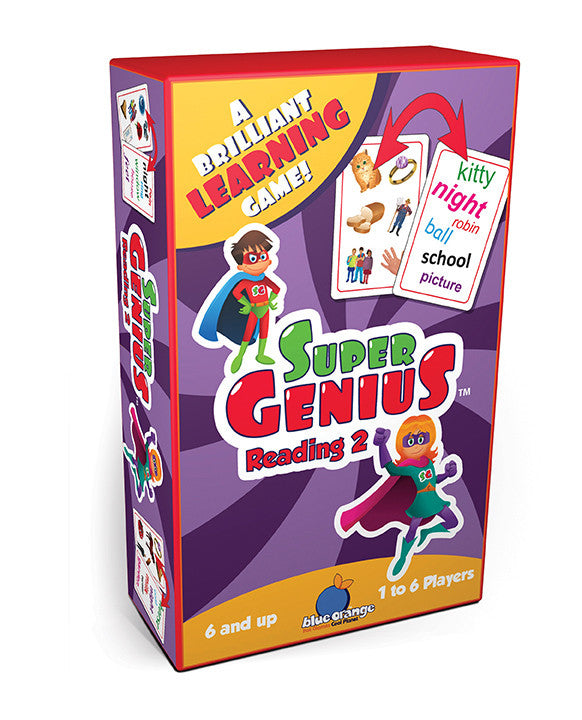 SUPER GENIUS Reading Set 2