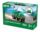 BRIO Battery Operated Freight Engine 33214