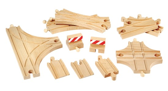 BRIO Tracks - Advanced Expansion Pack 11pc 33307