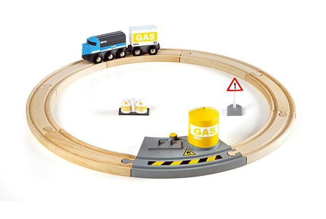 BRIO Train Set - Railway Freight Circle Set 33047