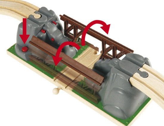 BRIO Collapsing Bridge for Railway 33391
