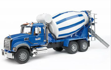 BRUDER - MACK Granite Cement Mixer 02814