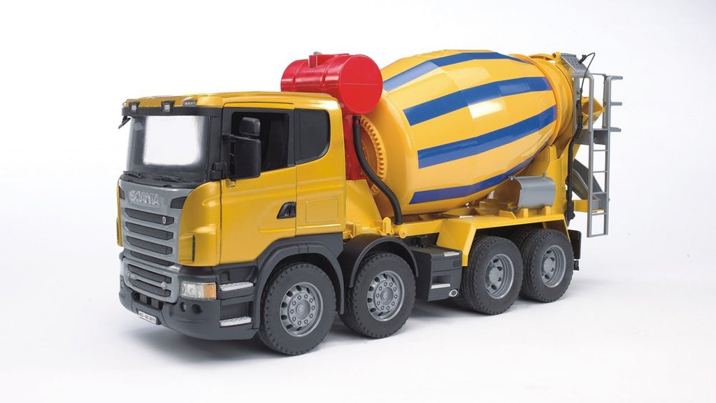 BRUDER - SCANIA R-Series Cement Mixer 03554