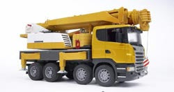 BURDER - Scania R-Series Liebher Crane Truc w/light 03570