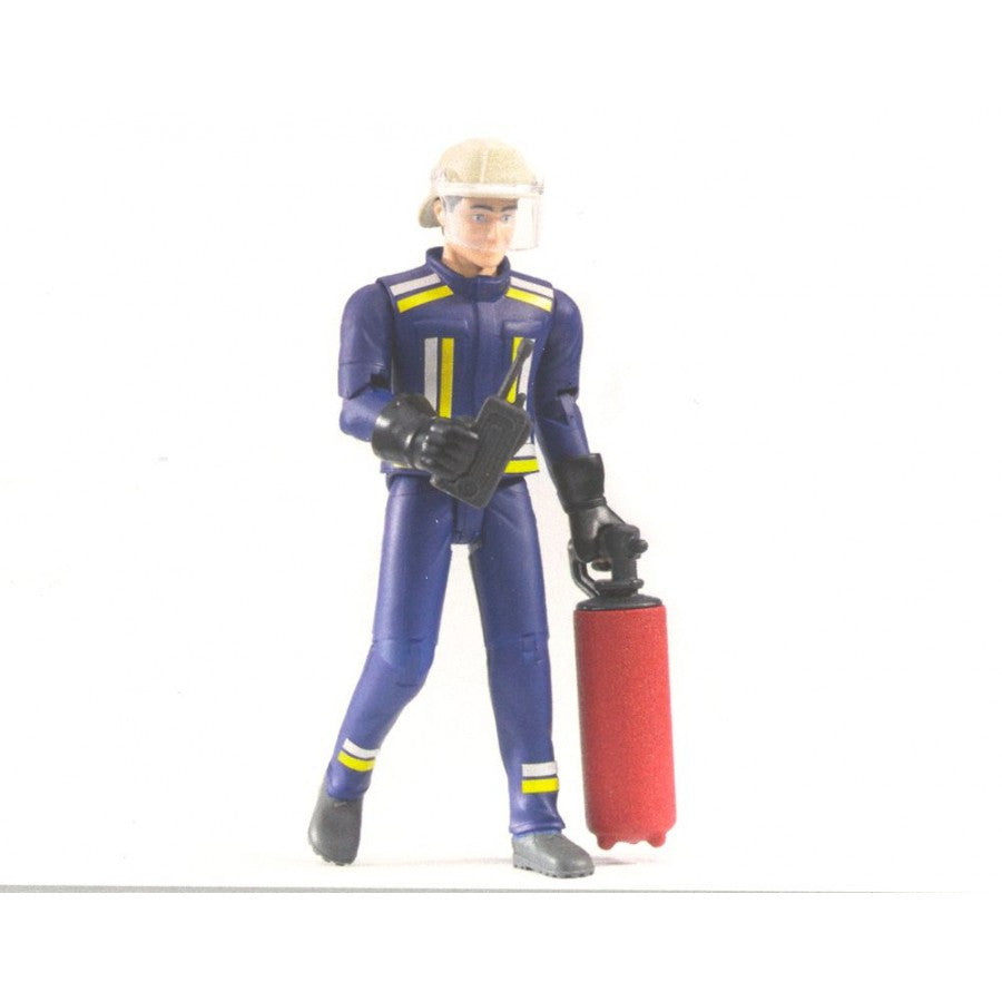 BRUDER - BWORLD Fireman with accessories 60100