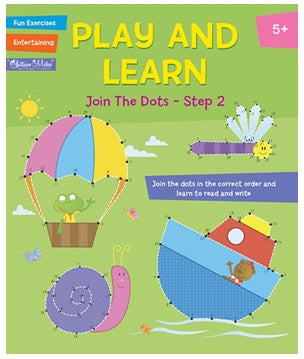 Gillian Miles - Play and Learn Activity - Join the Dots Step 2