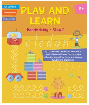 Gillian Miles - Play and Learn Activity - Handwriting Step 2
